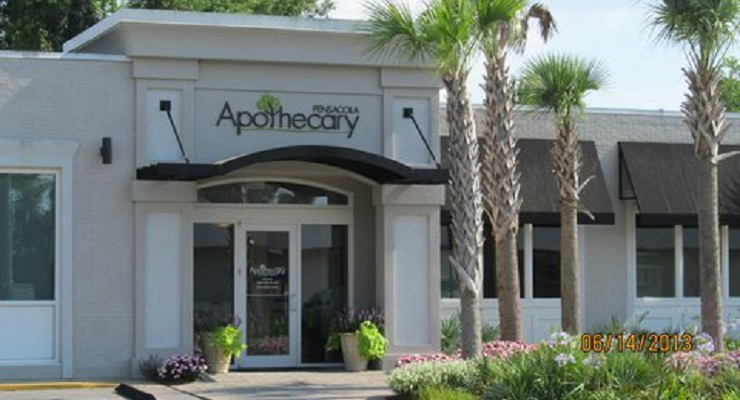Apothecary Logo - White Sands Electric