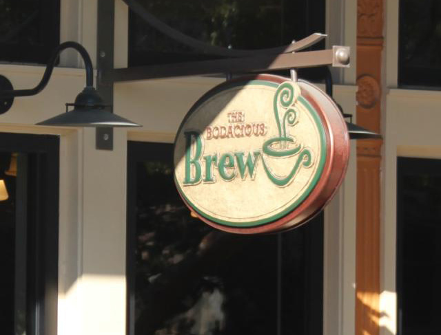 the Bodacious Brew Sign - White Sands Electric