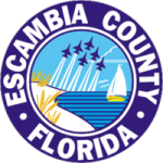 Escambia County Logo - White Sands Electric